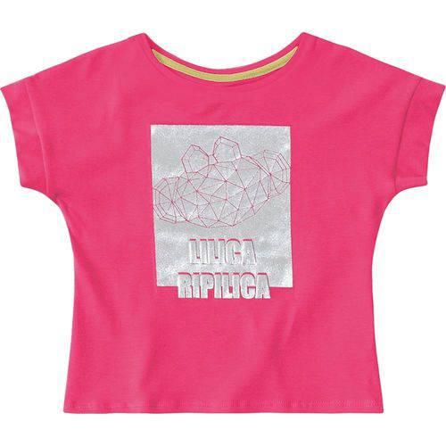 Blusa Lilica Ripilica Bebê Menina Rosa
