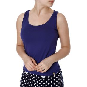 Blusa Regata Feminina Autentique Azul Marinho M