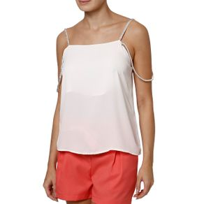 Blusa Regata Feminina Autentique Off White GG
