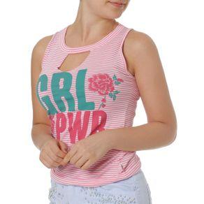Blusa Regata Feminina Rosa G