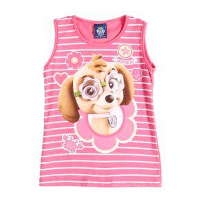 Blusa Regata Infantil para Menina - Rosa 2