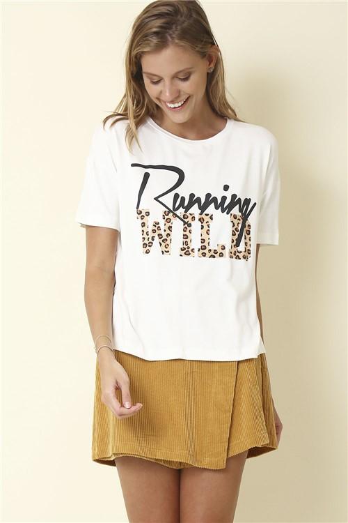 Blusa Running Wild - Off White Tamanho: P