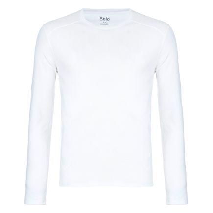 Blusa Segunda Pele Solo X-Thermo Grid Masculina Branco Tam. G