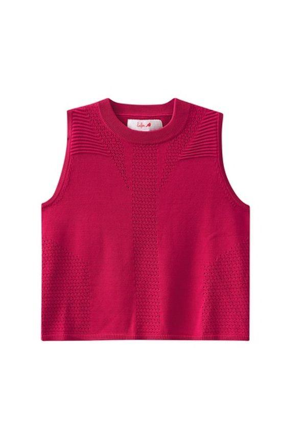 Blusa Tricô Adulto Enfim Rosa - P
