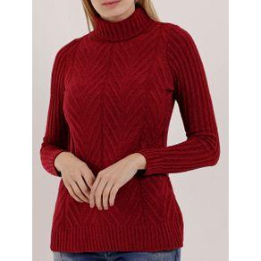 Blusão Feminino Vermelho M