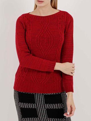 Blusão Feminino Vermelho