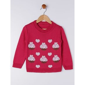 Blusão Infantil para Menina - Rosa Pink 3