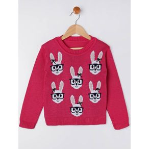 Blusão Infantil para Menina - Rosa Pink 4
