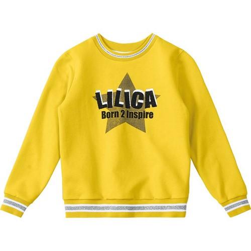 Blusão Lilica Ripilica Amarelo Bebê Menina