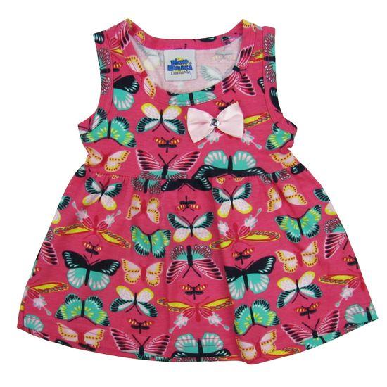 Blusas Bebê Feminina Regata Pink-1