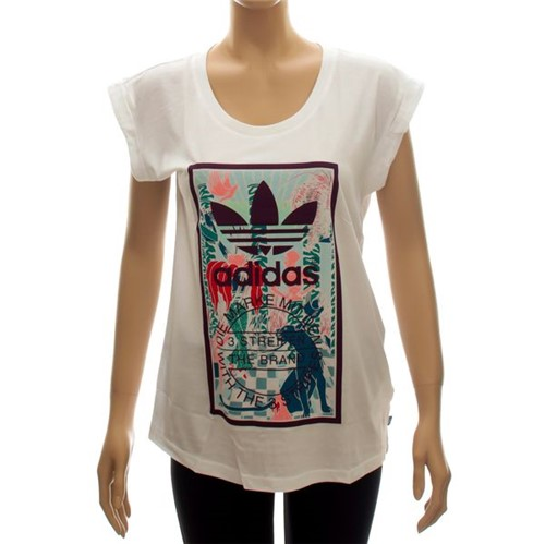 Blusinha Adidas Rolled-Up Tongue Label (M)