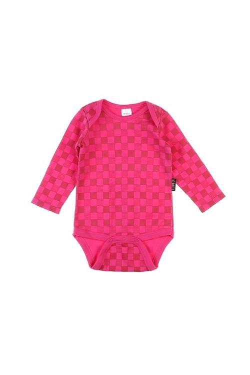 Body Bebê Bandeira M - Rosa Pink