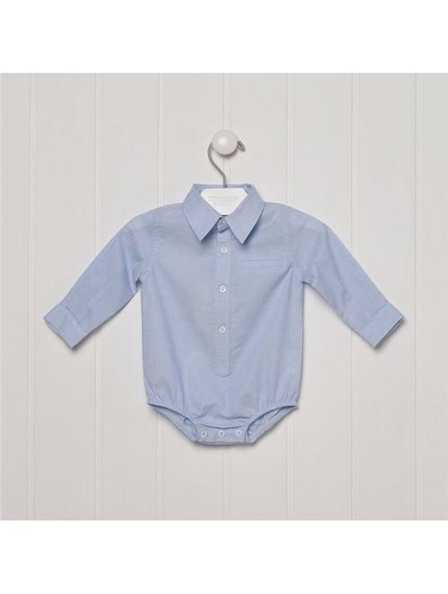 Body Camisa Cieloblue Azul Tamanho GG