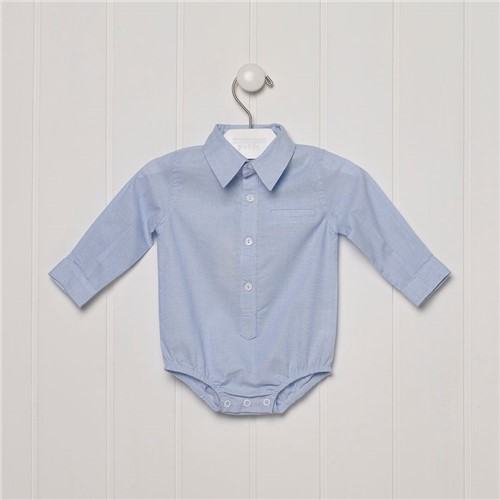 Body Camisa Cieloblue