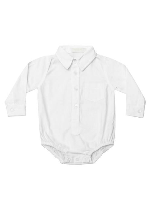 Body Camisa Danilo Branco BODY CAMISA DANILO - BRANCO - P