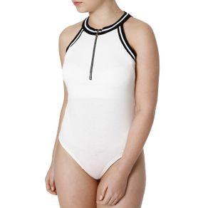Body Feminino Autentique Off White GG
