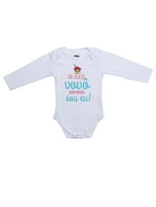 Body Flik Infantil para Bebê - Branco