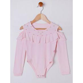 Body Infantil para Menina - Rosa 6