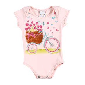 Body Infantil para Menina - Rosa G