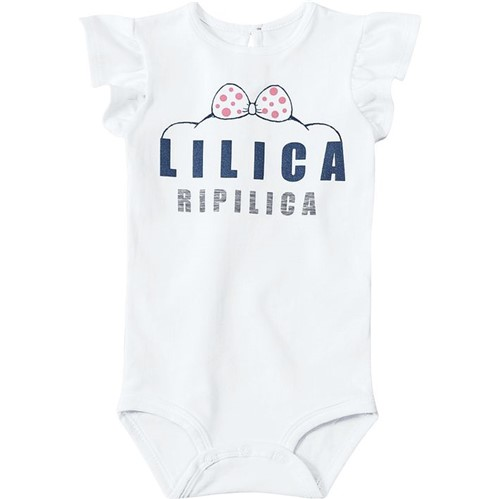 Body Lilica Ripilica Branco Rn Menina