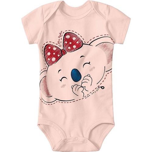 Body Lilica Ripilica Rosa Bebê Menina - Tam PB