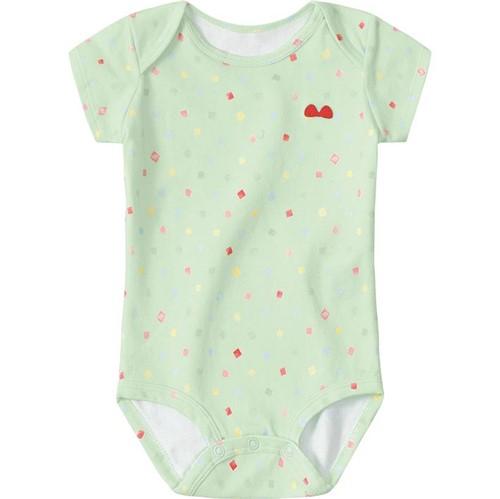 Body Lilica Ripilica Verde Bebê Menina