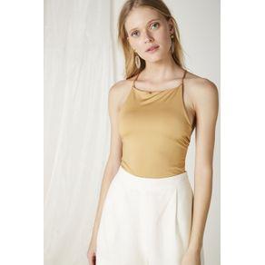 Body Simple Dourado - P