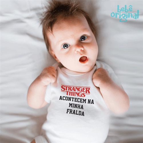 Body Stranger Fralda 100% Algodão, Branco Curta P