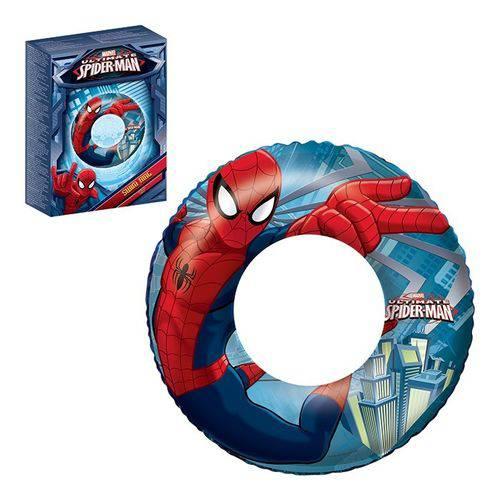 Boia Circular Homem Aranha Bestway Diâmetro 56 Cm