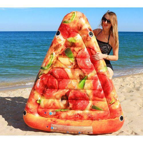 Bóia Colchão Inflável para Piscina Pedaço de Pizza Intex 58752