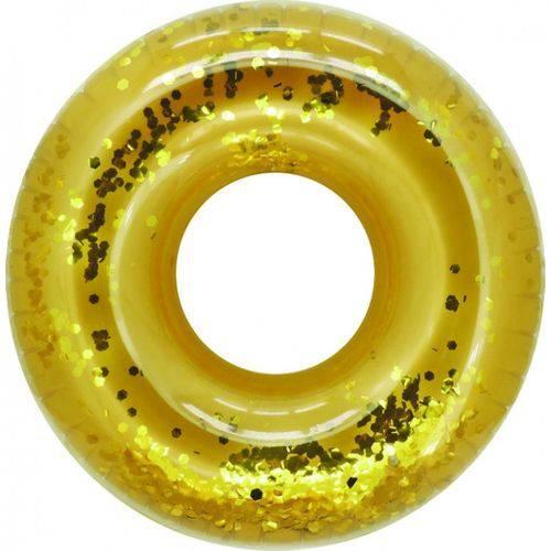 Boia Inflavel Especial Gigante Anel Dourado Bellazer