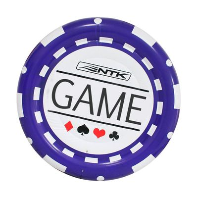 Boia Inflável NTK para Casal em Formato de Ficha de Poker com 1,70 M de Diâmetro Poker Chip Unica