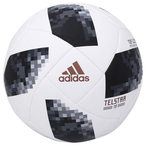 Bola Adidas Futebol Campo Telstar 18 Top Glider Copa do Mundo FIFA CE8096