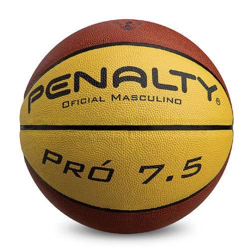 Bola de Basquete Masculina Profissional Pro 7.5 em Microfibra Penalty