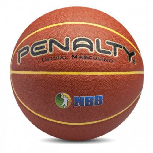 Bola de Basquete Masculina Profissional Pro 7.6 em Microfibra Penalty