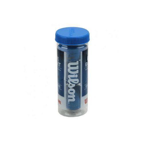 Bola de Frescobol Blue Bullet Tubo com 3 Unidades Wilson - W