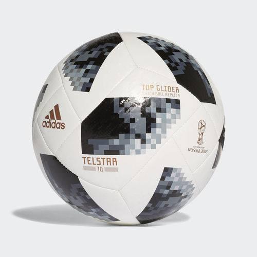 Bola de Futebol Adidas CPO Top Glider 18 Branco/Preto