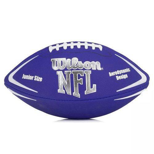 Bola de Futebol Americano - Infantil - Avenger Nfl - Azul - Wilson