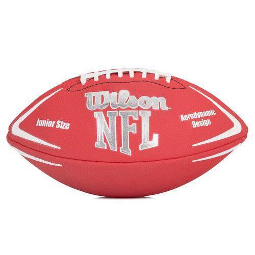 Bola de Futebol Americano - Infantil - Avenger Nfl - Vermelha - Wilson