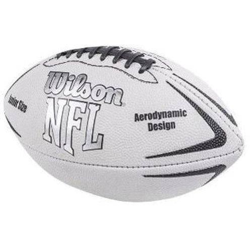 Bola de Futebol Americano Nfl Avenger Junior Prata Wilson