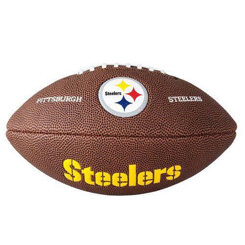 Bola de Futebol Americano Nfl Team Logo Pittsburgh
