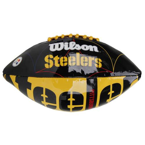 Bola de Futebol Americano Wilson Nfl Team Logo Pittsburgh Steelers Jr