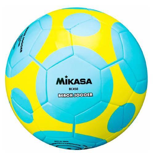 Bola de Futebol de Areia Mikasa Bc450 (Beach Soccer)