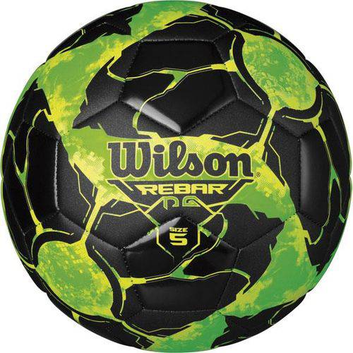 Bola de Futebol de Campo Rebar Ng N.5 Verde/Preto Wilson