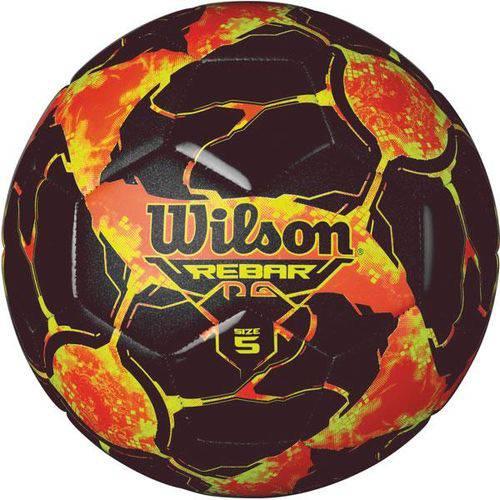 Bola de Futebol de Campo Rebar Ng N.5 Vermelho/Preto Wilson