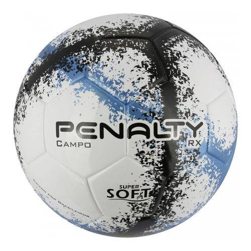 Bola de Futebol de Campo - Rx R3 Viii - Branco, Azul e Preto - Penalty