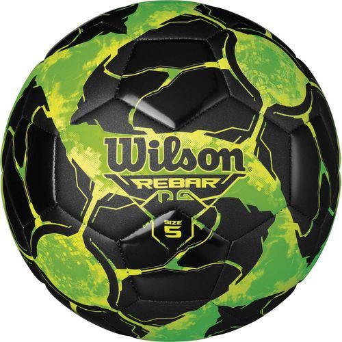 Bola de Futebol - Rebar Ng - Verde e Preto - Wilson
