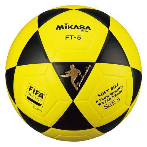 Bola de Futevôlei Mikasa FT-5 FIFA - Amarelo/Preto