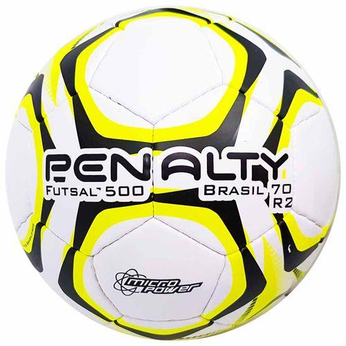 Bola de Futsal Penalty Oficial Brasil 70 R2 Amarela 1008564