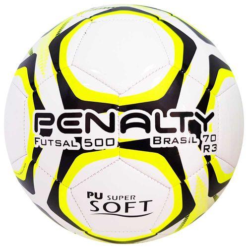 Bola de Futsal Penalty Oficial Brasil 70 R3 Amarela 1029280